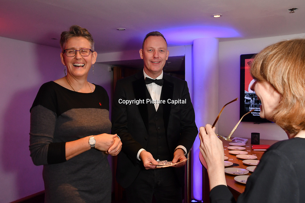 Paul Martin is a Magician entertainment the guests at The British Heart Foundation's Heart Hero Awards at The Globe Theatre, to celebrate and say thank you to the charity's inspirational supporters. Picture date: Friday 5 October 2018. Hosted by Kay Burley, awards went to selfless fundraisers and those who have shown remarkable bravery and gone above and beyond to help others. Nominations are now open for next year's Heart Hero Awards.