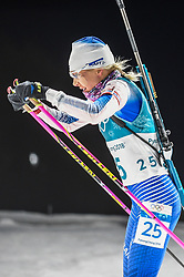 February 12, 2018 - Pyeongchang, Gangwon, South Korea - Kaisa Makarainen of Finland competing at Women's 10km Pursuit, Biathlon, at olympics at Alpensia biathlon stadium, Pyeongchang, South Korea. on February 12, 2018. Ulrik Pedersen/Nurphoto  (Credit Image: © Ulrik Pedersen/NurPhoto via ZUMA Press)