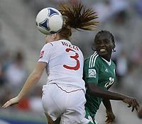 Datum: 22.09.2012  U17 / U 17 Frauen WM: Nigeria-Canada. 19 Chinwendu IHEZUO.; Fussball Damen Frauenfussball Nationalteam Länderspiel WM Junioren<br /> <br /> Norway only