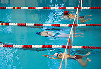 St Paul's School swim meet.  ©2018 Karen Bobotas Photographer