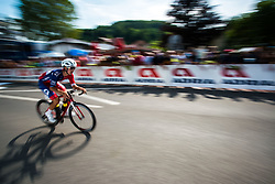 Ziga Horvat of Adria Mobil at 1st Stage of 26th Tour of Slovenia 2019 cycling race between Ljubljana and Rogaska Slatina (171 km), on June 19, 2019 in  Slovenia. Photo by Vid Ponikvar / Sportida