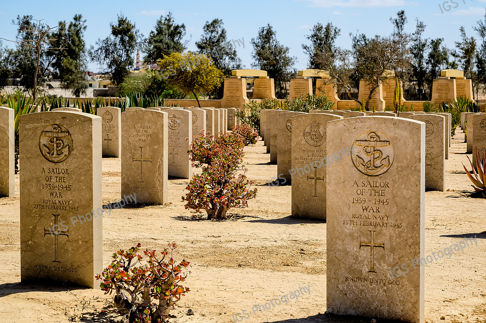 The Cemetery of the Commonwealth hosts the bodies of the Commonwealth soldiers who were killed in the World War 2 battle of El Alamein