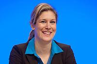 17 JAN 2009, BERLIN/GERMANY:<br /> Dr. Silvana Koch-Mehrin, MdEP, Vorsitzende der FDP im Europaparlament, Europaparteitag der FDP, Estrel Convention Center<br /> IMAGE: 20090117-01-025<br /> KEYWORDS: party congress, freundlich, lachen, lacht