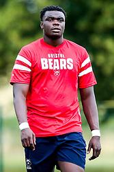 Ehize Ehizode looks on as Bristol Bears train and prepare for the 2018/19 Gallagher Premiership Rugby Season - Mandatory by-line: Robbie Stephenson/JMP - 16/07/2018 - RUGBY - Clifton Rugby Club - Bristol, England - Bristol Bears Training