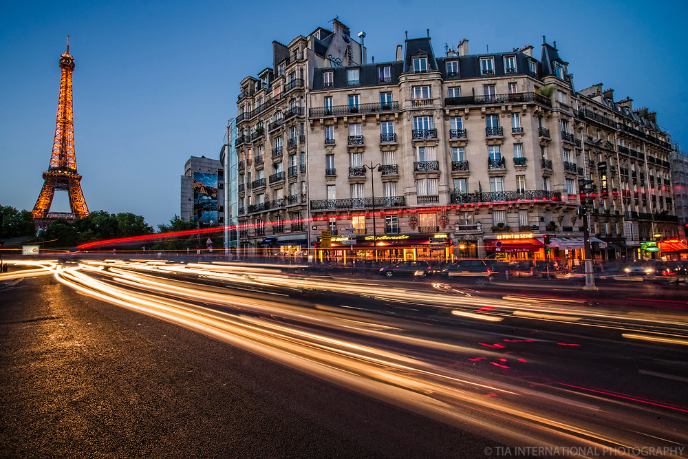 Quai Branly & Eiffel Tower @ Sunset
