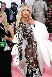 """Stella Maxwell at the 2019 Costume Institute Benefit Gala celebrating the opening of """"Camp: Notes on Fashion"""".<br />(The Metropolitan Museum of Art, NYC)"""