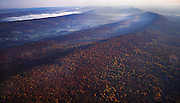 PA landscapes, Blue Ridge Mts. Cumberland and Perry Counties Aerial Photograph Pennsylvania