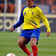 NLD/Amsterdam/20060301 - Voetbal, oefenwedstrijd Nederland - Ecuador, Patricio Urrutia