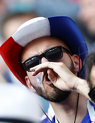 June 26, 2018 - Moscow, Russia - Group C France v Denmark - FIFA World Cup Russia 2018.The disappointment of a France supporter after a bad match played by the team at Luzhniki Stadium in Moscow, Russia on June 26, 2018. (Credit Image: © Matteo Ciambelli/NurPhoto via ZUMA Press)