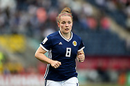 Kim Little (#8) of Scotland during the FIFA Women's World Cup UEFA Qualifier match between Scotland Women and Belarus Women at Falkirk Stadium, Falkirk, Scotland on 7 June 2018. Picture by Craig Doyle.