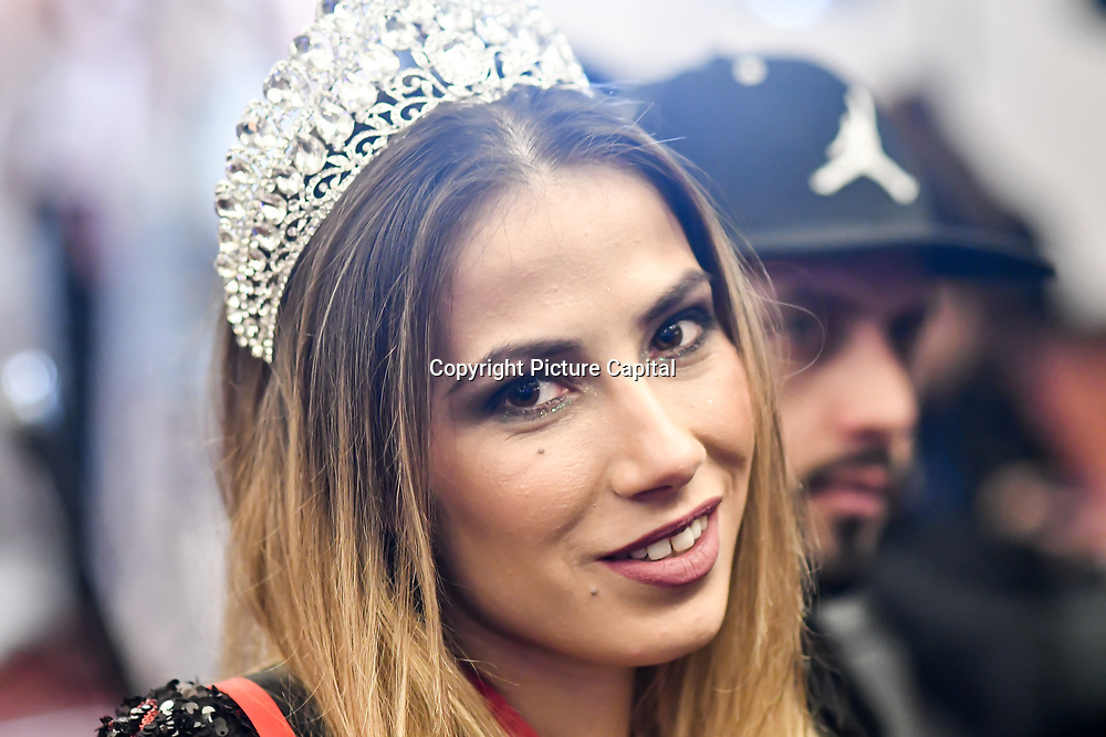 Top Model Tiana Sidor - Miss SMGlobal attend SMGlobal Catwalk - London Fashion Week F/W19 at Clayton Crown Hotel,  Cricklewood Broadway, on 1st March 2019, London, UK.