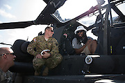 January 27 2016: Seattle Seahawks Richard Sherman talks with soldiers during the Pro Bowl Draft at Wheeler Army Base on Oahu, HI. (Photo by Aric Becker/Icon Sportswire)