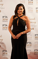 Television Presenter Lisa Cannon at the IFTA Film & Drama Awards (The Irish Film & Television Academy) at the Mansion House in Dublin, Ireland, Thursday 15th February 2018. Photographer: Doreen Kennedy