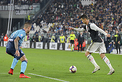 May 19, 2019 - Turin, Turin, Italy - Cristiano Ronaldo of Juventus FC during the Serie A match at Allianz Stadium, Turin (Credit Image: © Antonio Polia/Pacific Press via ZUMA Wire)