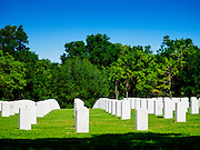 01 MAY 2015 - BUSHNELL, FL: The Florida National Cemetery near Bushnell, Florida.   PHOTO BY JACK KURTZ