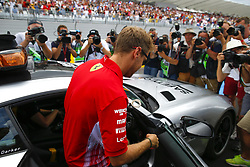 June 24, 2018 - Le Castellet, France - Motorsports: FIA Formula One World Championship 2018, Grand Prix of France, .#5 Sebastian Vettel (GER, Scuderia Ferrari) (Credit Image: © Hoch Zwei via ZUMA Wire)