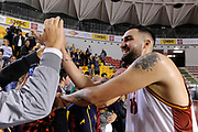Aristide Landi<br /> Virtus Roma - Bertram Tortona<br /> Campionato Basket LNP 2017/2018<br /> Roma 29/10/2017<br /> G.Masi / Ciamillo-Castoria