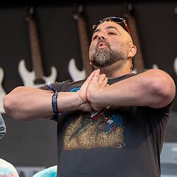 May 25, 2018 - Napa, California, U.S - DUFF GOLDMAN on the Culinary Stage during BottleRock Music Festival at Napa Valley Expo in Napa, California (Credit Image: © Daniel DeSlover via ZUMA Wire)