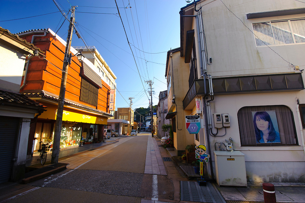 Scenes from the badly depopulated town on Noto, Ishikawa prefecture, Japan, December 19, 2010.