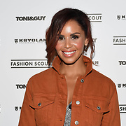 Shanie Ryan is a TV Presenter & Presenter Capital xtra radio attend Fashion Scout - SS19 - London Fashion Week - Day 2, London, UK. 15 September 2018.