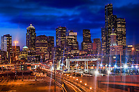 Downtown Seattle @ Dusk