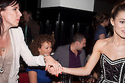 RONNI ANCONA; KARA TOINTON; , The aftershow party for PYGMALION. National Gallery Gallery CafŽ, London.  May 25, 2011,<br /> <br /> <br /> <br />  , -DO NOT ARCHIVE  Copyright Photograph by Dafydd Jones. 248 Clapham Rd. London SW9 0PZ. Tel 0207 820 0771. www.dafjones.com.<br /> RONNI ANCONA; KARA TOINTON; , The aftershow party for PYGMALION. National Gallery Gallery Café, London.  May 25, 2011,<br /> <br /> <br /> <br />  , -DO NOT ARCHIVE  Copyright Photograph by Dafydd Jones. 248 Clapham Rd. London SW9 0PZ. Tel 0207 820 0771. www.dafjones.com.