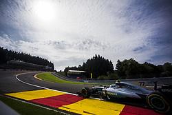 August 25, 2017 - Spa, Belgium - 77 BOTTAS Valtteri from Finland of team Mercedes GP during the Formula One Belgian Grand Prix at Circuit de Spa-Francorchamps on August 25, 2017 in Spa, Belgium. (Credit Image: © Xavier Bonilla/NurPhoto via ZUMA Press)