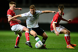 Bristol City's Tom Richards puts pressure on Liverpool's Herbie Kane  - Mandatory by-line: Alex James/JMP - 13/02/2018 - FOOTBALL - Ashton Gate Stadium - Bristol, England - Bristol City U23 v Liverpool U23 - Premier League Cup