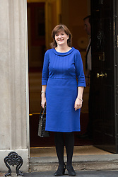 © Licensed to London News Pictures. 09/04/2014. London, UK. Nicky Morgan arrives at Downing Street, London on 9th April 2014. Photo credit : Vickie Flores/LNP