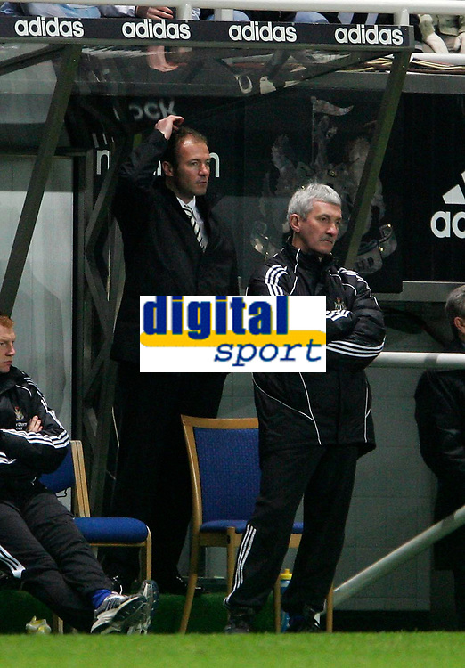 Photo: Andrew Unwin.<br />Newcastle United v Southampton. The FA Cup. 18/02/2006.<br />Newcastle's assistant caretaker-manager, Alan Shearer (L).