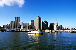 California: San Francisco skyline,  Photo: baycru103.Photo copyright Lee Foster, 510/549-2202, lee@fostertravel.com, www.fostertravel.com