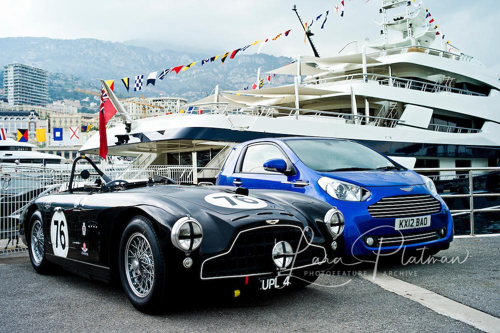 Aston Martin at the Grand Prix de Monaco Historic 2012 Grand Prix de Monaco Historic