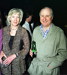 MR & MRS GEOFFREY VAN CUTSEM he is the brother of Hugh van Cutsem, family friend of HRH The Prince of Wales, at a party in London on 13th April 2000.<br /> OCT 8 2ORO<br /> © Desmond O'Neill Features:- 020 8971 9600<br />    10 Victoria Mews, London.  SW18 3PY  photos@donfeatures.com   www.donfeatures.com<br /> MINIMUM REPRODUCTION FEE AS AGREED.<br /> PHOTOGRAPH BY DOMINIC O'NEILL