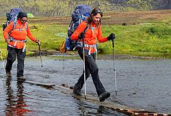 09-07-2014 ISL: Iceland Diabetes Challenge Dag 5, Emstrur<br /> Van Alftavatn naar Emstrur / Anne-Marie Eerenstein