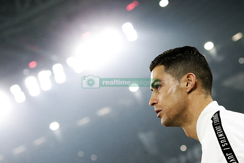 December 7, 2018 - Turin, Turin, Italy - Cristiano Ronaldo #7 of Juventus FC before the serie A match between Juventus FC and FC Internazionale Milano at Allianz Stadium on December 07, 2018 in Turin, Italy. (Credit Image: © Giuseppe Cottini/NurPhoto via ZUMA Press)