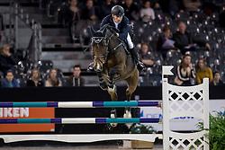 Cristofoletti Michael, ITA, Ciao 2<br /> Jumping Indoor Maastricht 2016<br /> © Hippo Foto - Dirk Caremans<br /> 12/11/2016