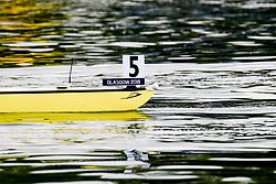 August 3, 2018 - Glasgow, UNITED KINGDOM - 180803 A rowing boat in lane 5 during the European Championships on August 3, 2018 in Glasgow..Photo: Jon Olav Nesvold / BILDBYRÃ…N / kod JE / 160281 (Credit Image: © Jon Olav Nesvold/Bildbyran via ZUMA Press)