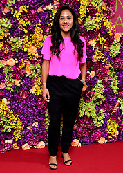 Alex Scott attending the Crazy Rich Asians Premiere held at Ham Yard Hotel, London.