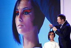 Show WELLA por Vidal Sassoon durante a HAIR BRASIL 2012 - 12 ª Feira Internacional de Beleza, Cabelos e Estética, que acontece de 24 a 27 de março no Expocenter Norte, em São Paulo. FOTO: Jefferson Bernardes/Preview.com
