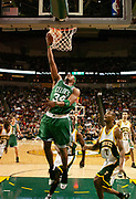 December 26, 2005, Seattle, Washington, USA;  Paul Pierce of the Boston Celtics drives to the basket against the Seattle Supersonics for a layup.  The Celtics lost to the SuperSonics 118-111.