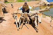 17 MARCH 2006 - KAMPONG CHHNANG, KAMPONG CHHNANG, CAMBODIA: Life along the Tonle Sap River in and around the city of Kampong Chhnang in central Cambodia. PHOTO BY JACK KURTZ
