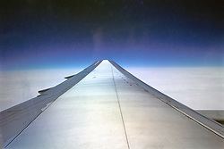 Looking Out Onto Wing From Jet