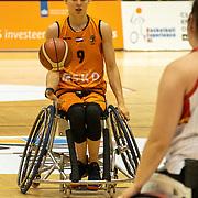 NLD/Rotterdam/20190706 - BN'ers spelen rolstoelbasketbal tijdens EK rolstoelbasketbal vrouwen, nr.9 Jitske Visser