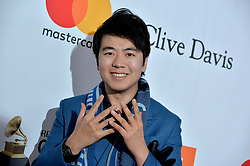 Lang Lang attends the Clive Davis and Recording Academy Pre-GRAMMY Gala and GRAMMY Salute to Industry Icons Honoring Jay-Z on January 27, 2018 in New York City.. Photo by Lionel Hahn/ABACAPRESS.COM