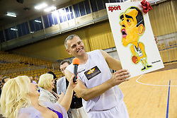 Slavko Kotnik during football and basketball charity event All Legends by Olimpiki, on June 9, 2015 in Hala Tivoli, Ljubljana, Slovenia. Photo by Vid Ponikvar / Sportida