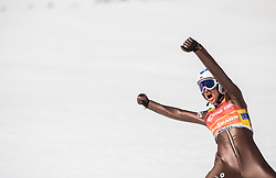 Kamil Stoch of Poland reacts during the Ski Flying Hill Men's Team Competition at Day 3 of FIS Ski Jumping World Cup Final 2017, on March 25, 2017 in Planica, Slovenia. Photo by Vid Ponikvar / Sportida