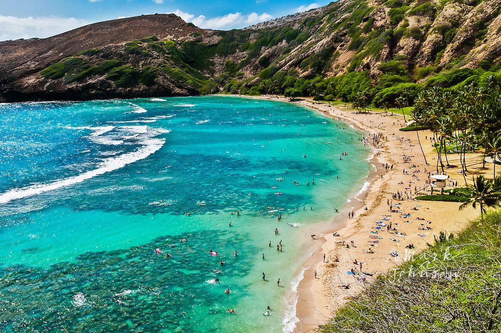 Oahu, Hawaii, USA --- Hanauma Bay Nature Preserve, Oahu, Hawaii