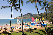 Outrigger Canoe Racing, Kauai, Hawaii<br />