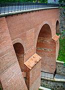 Gotycki most na rzeczce Sajnie w Reszlu
