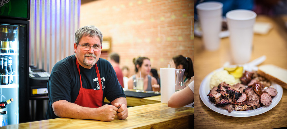 Dirk Miller, owner & pitmaster, Miller's BBQ in Belton Texas